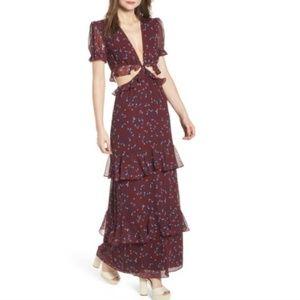 Wayf Laviana maxi dress